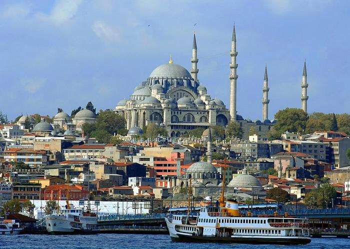 Стамбул, крупнейший город в Турции