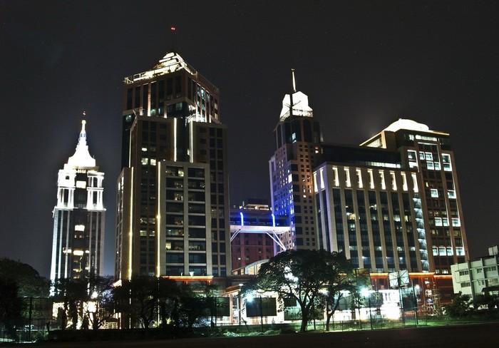 Деловой центр города Бангалор