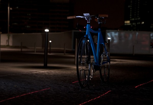 Умный велосипед Samsung Smart Bike