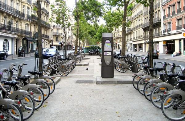 Velib' – общегородская система проката велосипедов