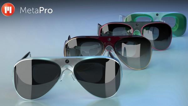 Meta Pro – интерактивные очки премиум-класса. Источник фото: technobuffalo.com