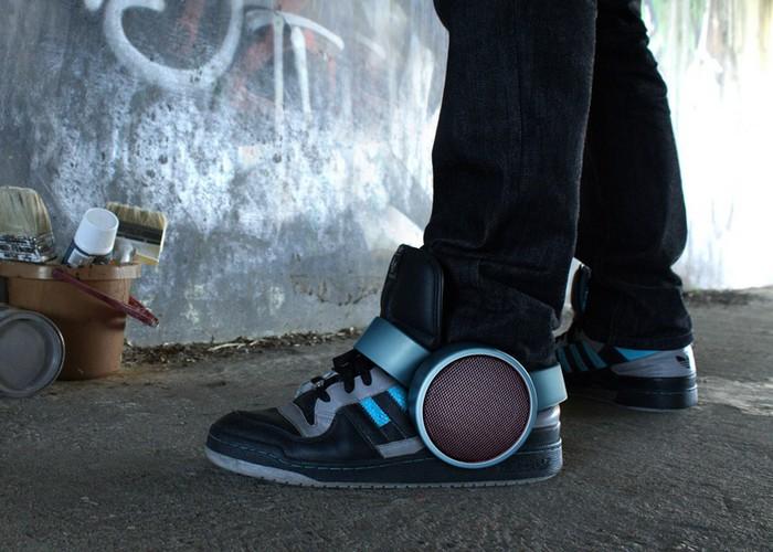 Sneaker Speaker – музыкальные кроссовки