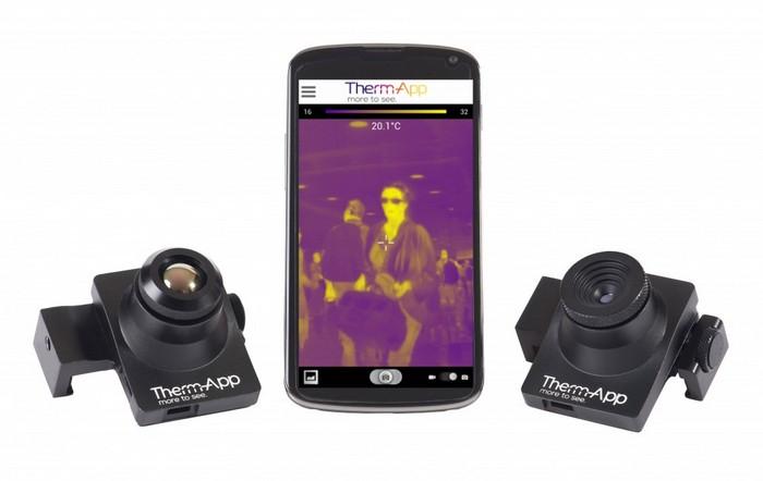 Therm-App – устройство, превращающее смартфон в прибор ночного видения