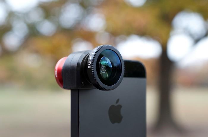 Olloclip – внешний объектив для мобильного телефона