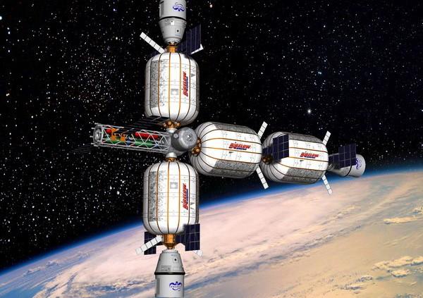Космический отель от Bigelow Aerospace