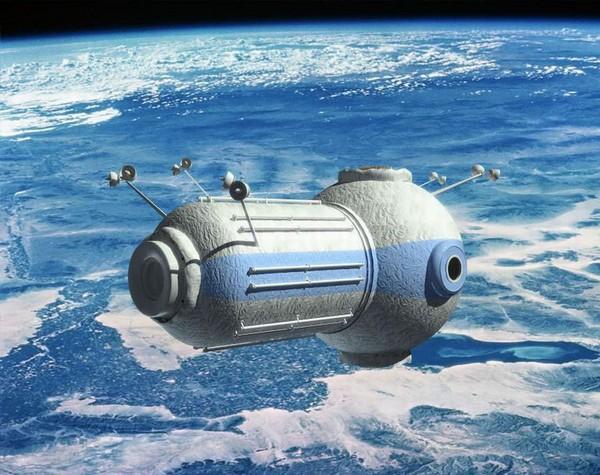 Российский космический отель The Commercial Space Station