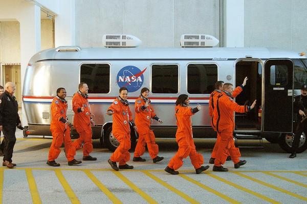 Экипаж шаттла «Колумбия». Источник фото: Newscientist.com