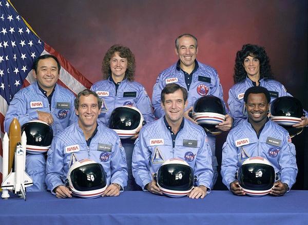 Экипаж шаттла «Челленджер». Источник фото: Storycorps.org