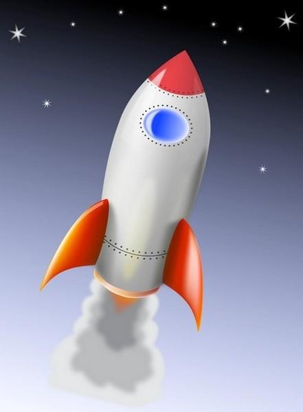 Стилизованное изображение ракеты, напоминающее ФАУ-2. Источник фото: demiart.ru