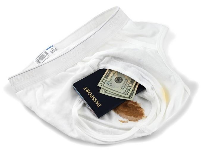 Brief Safe – грязное белье для перевозки ценностей