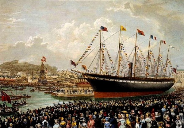 SS Great Britain – британский обладатель множества рекордов. Источник фото: spellerweb.net