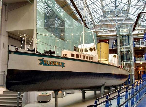 Turbinia – пароход с паровой турбиной. Источник фото: grantmaclaren.com