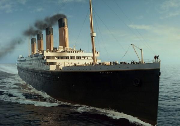 Реконструкция Титаника из одноименного фильма Джеймса Камерона. Источник фото: lenta-ua.net