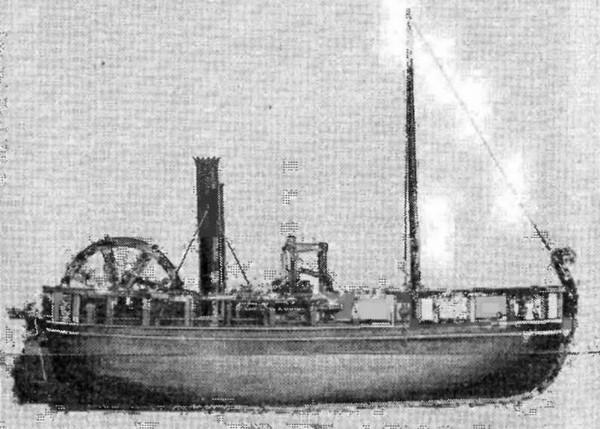 Charlotte Dundas – первый в мире пароход. Источник фото:  shipslib.com