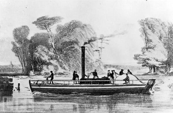 Charlotte Dundas – первый в мире пароход. Источник фото: moremhod.info
