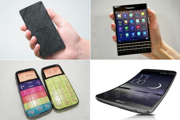 Самые странные в мире мобильные телефоны