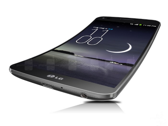 LG G Flex – изогнутый смартфон