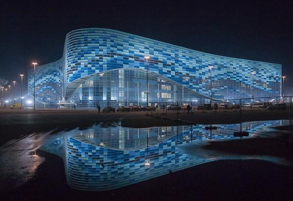 Ледовый стадион Айсберг в Сочи