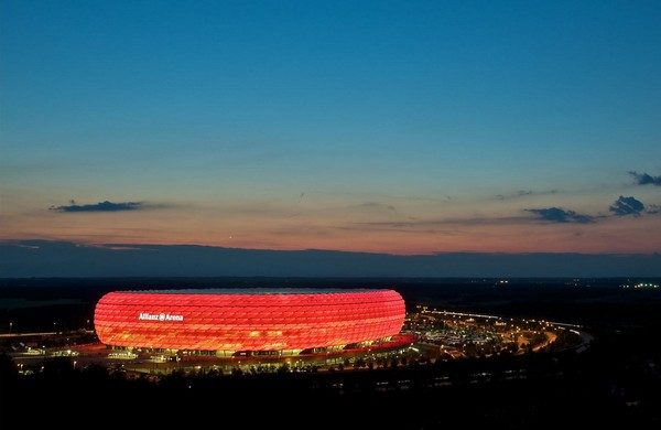 Стадион Allianz Arena в Мюнхене