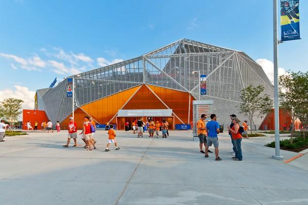 Стадион BBVA Compass Stadium в Хьюстоне