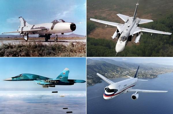 Лучшие серийные самолеты от ОКБ Сухого