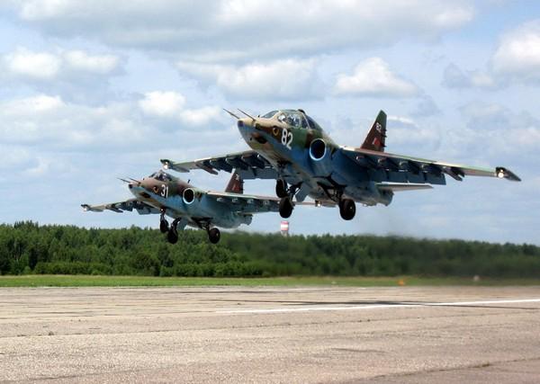 Штурмовик Су-25.Источник фото: airforce.ru