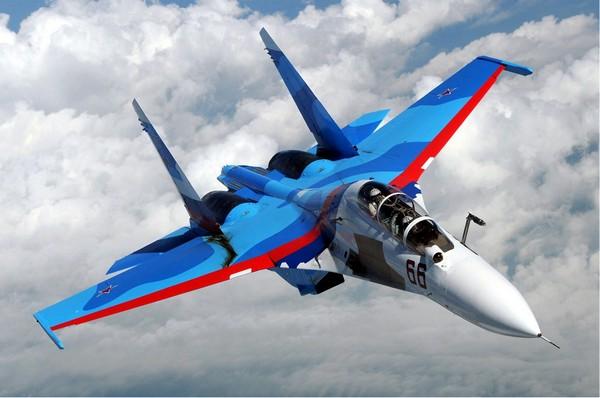 Истребитель Су-30. Источник фото: Википедия