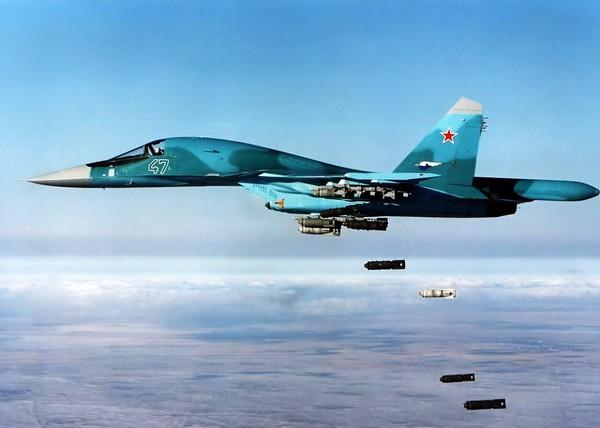 Истребитель-бомбардировщик Су-34. Источник фото: belvpo.com