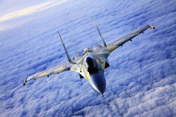 Истребитель Су-35. Источник фото: army.lv