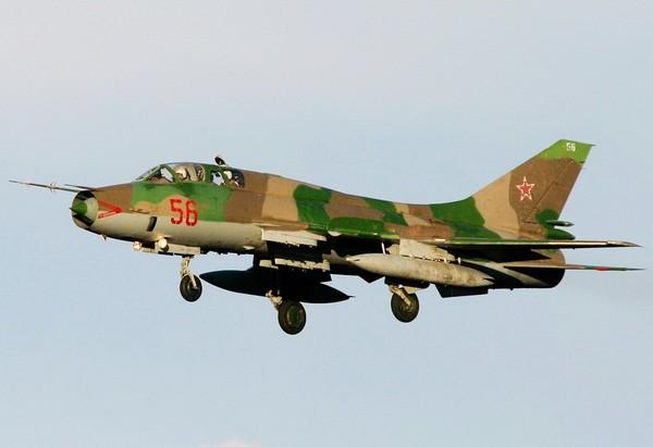 Истребитель Су-17. Источник фото: army.lv