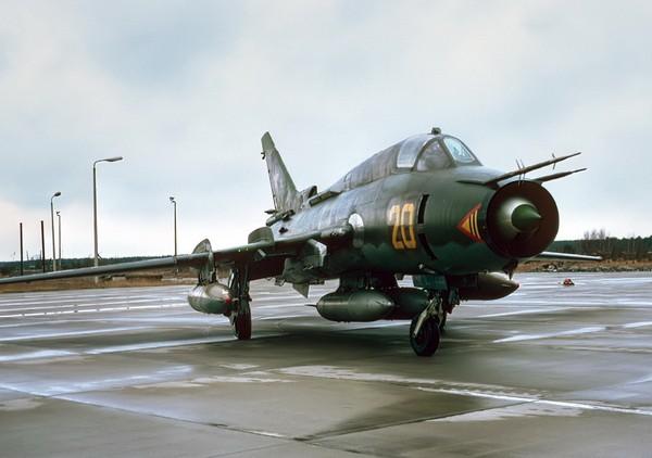 Истребитель Су-17. Источник фото: airforce.ru