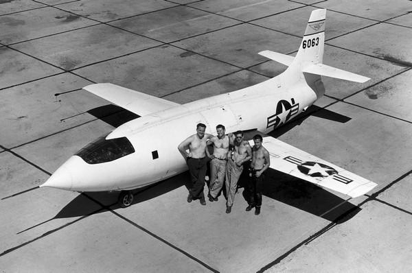 Bell X-1: самолет с ракетным двигателем