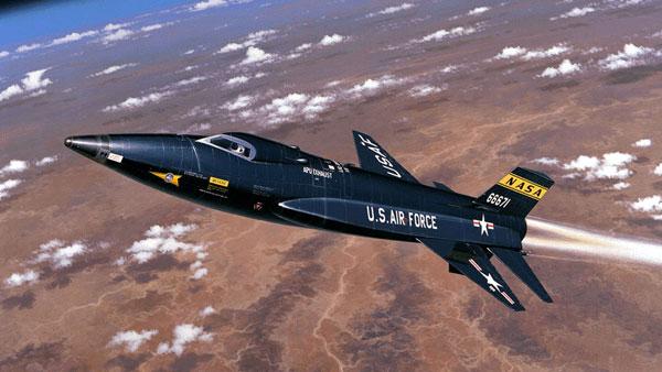 North American X-15: первый гиперзвуковой