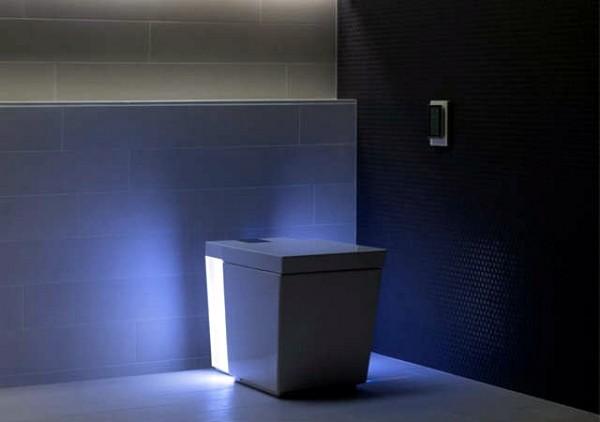 Kohler Numi Toilet – мультимедийный туалет. Источник фото: fashionablypetite.com