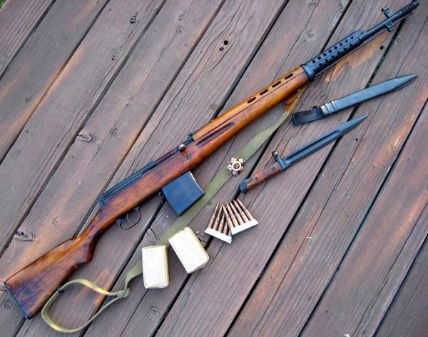 Самозарядная винтовка Токарева. Источник фото: topwar.ru