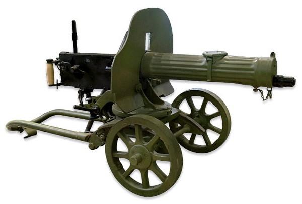 Пулемет Максима. Источник фото: ru.warriors.wikia.com