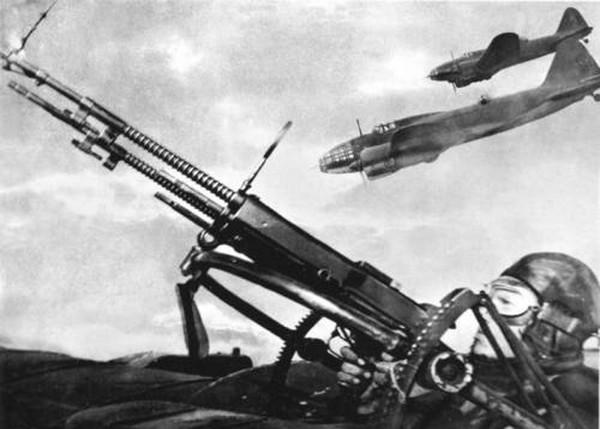 Авиационный пулемет ШКАС. Источник фото: opoccuu.com