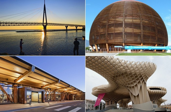 Самые необычные современные деревянные сооружения