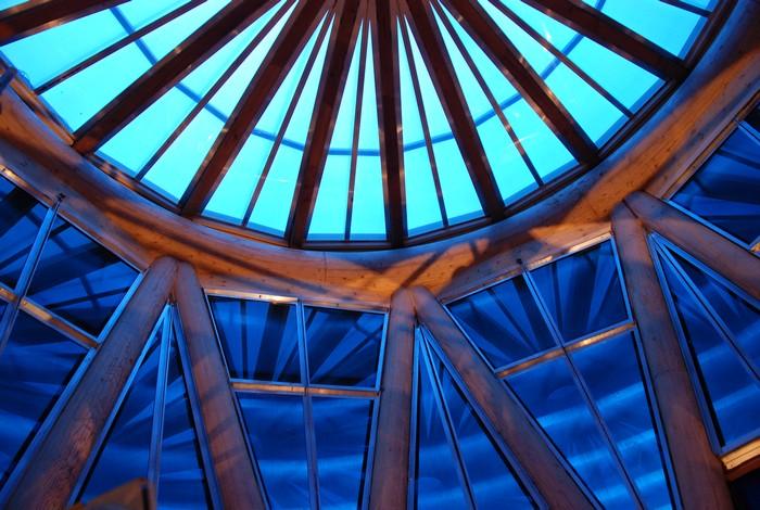 Globe of Science and Innovation – деревянный музей науки в CERN