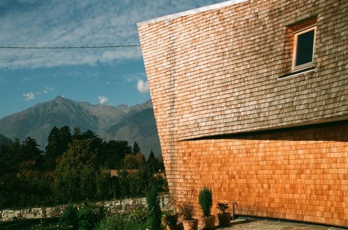 Villa San Valentino – уникальный деревянный особняк