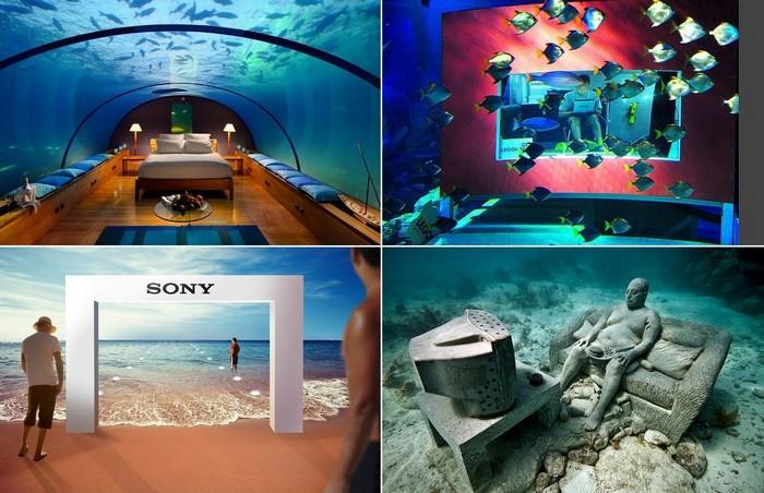 Самые необычные в мире подводные объекты