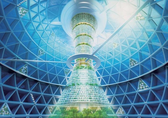 Подводный город Ocean Spiral