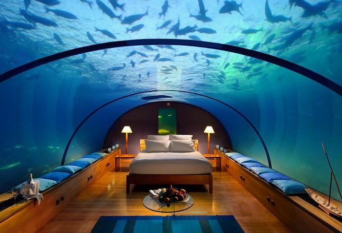 Подводный отель Conrad Maldives Rangali Island Hotel