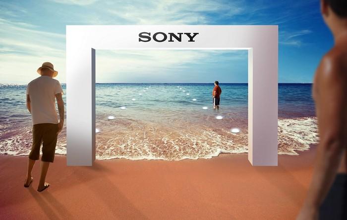 Xperia Aquatech Store – подводный магазин телефонов Sony