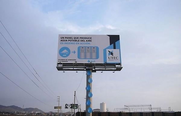 Билборды для сбора воды