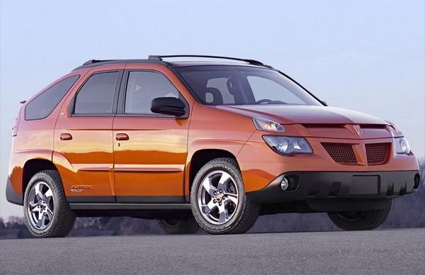 Pontiac Aztek – самый уродливый в мире внедорожник. Источник фото: netcarshow.com