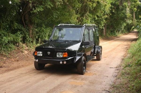 Mobius One – самый дешевый в мире внедорожник. Источник фото: aada-african-car.blogspot.com
