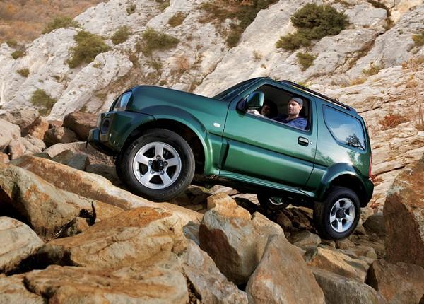 Suzuki Jimny – самый маленький в мире внедорожник. Источник фото: lifestylemotors.com