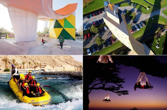 Лучшие в мире парки для экстремальных видов спорта