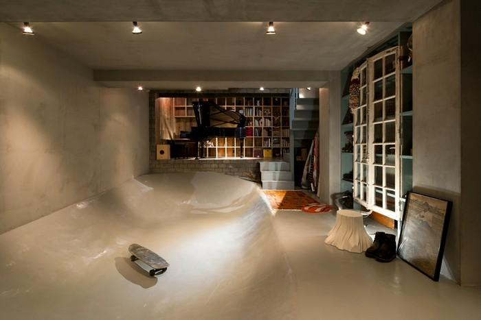 Skate Park House – скейт-парк внутри дома